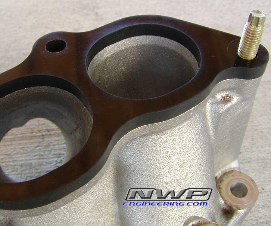 NWP Engineering - 75mm Big Bore Throttle Body - Phenolic