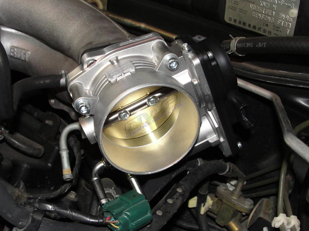 Nwp Mm Big Bore Throttle Body Installed